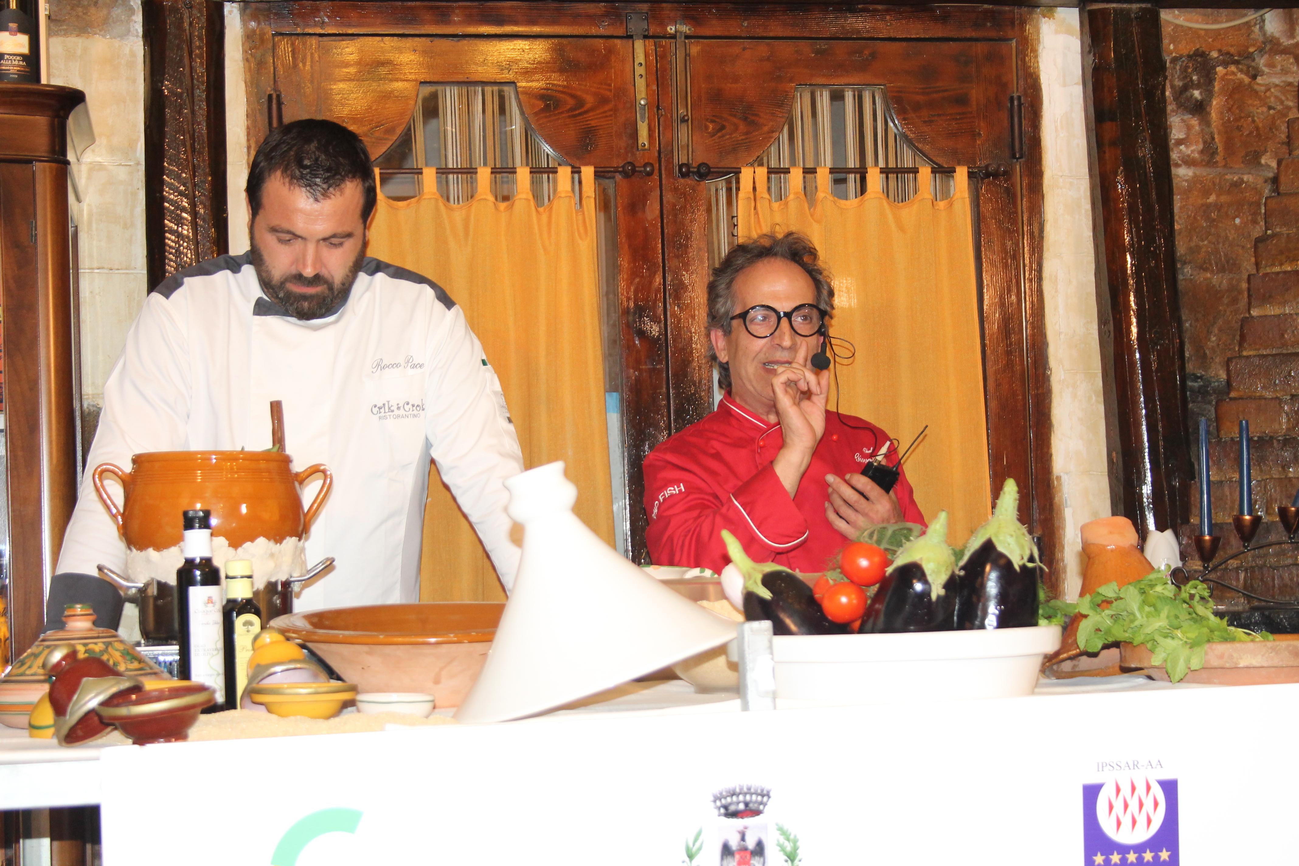 Lab del gusto terra matta mol levante e ponente si sono incontrati a tavola consorzio - San vito a tavola ...